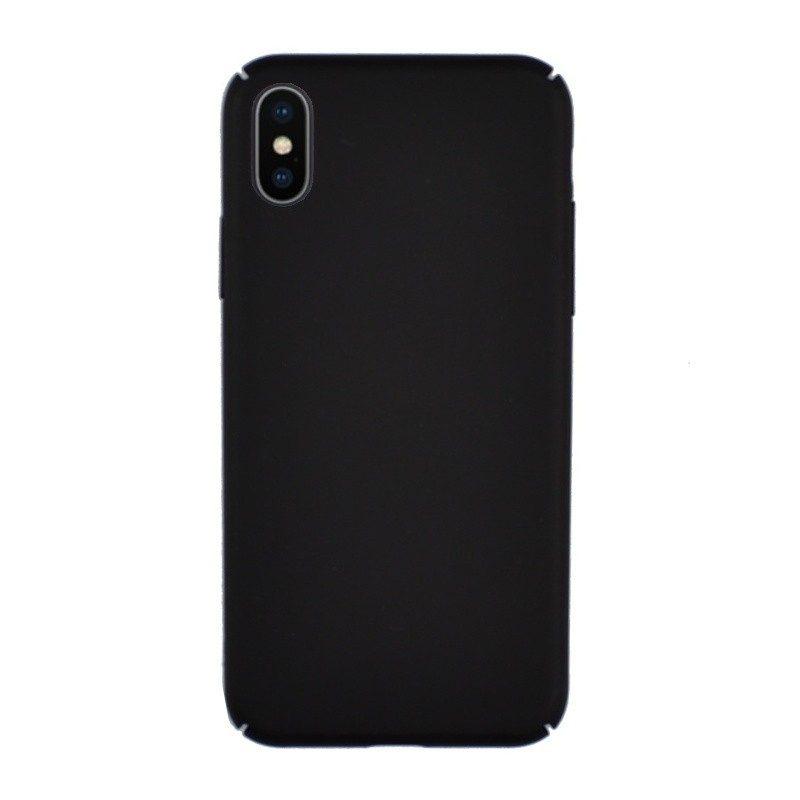 Plastový kryt pre iPhone X BLACK