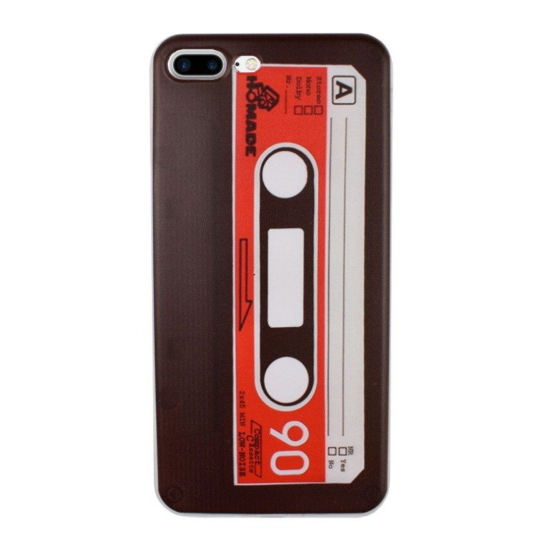 Silikónový kryt pre iPhone 7/8 Plus CASSETTE