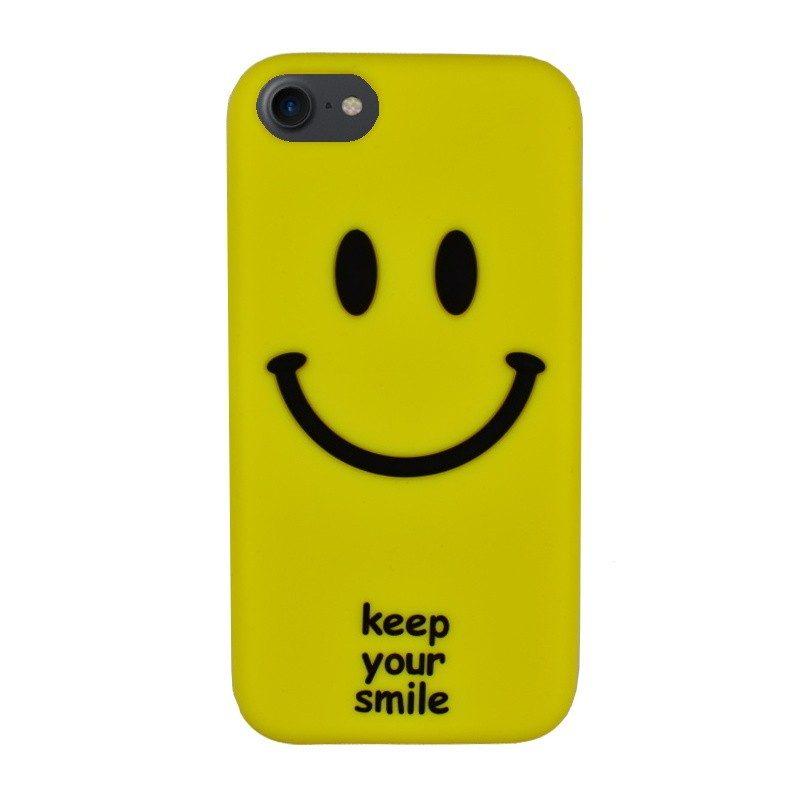 Silikónový kryt pre iPhone 7/8 SMILE