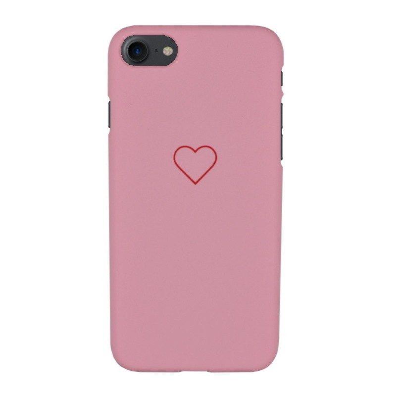 Plastový kryt pre iPhone 7/8 RED HEART