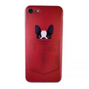 Silikónový kryt pre iPhone 7/8 DOG