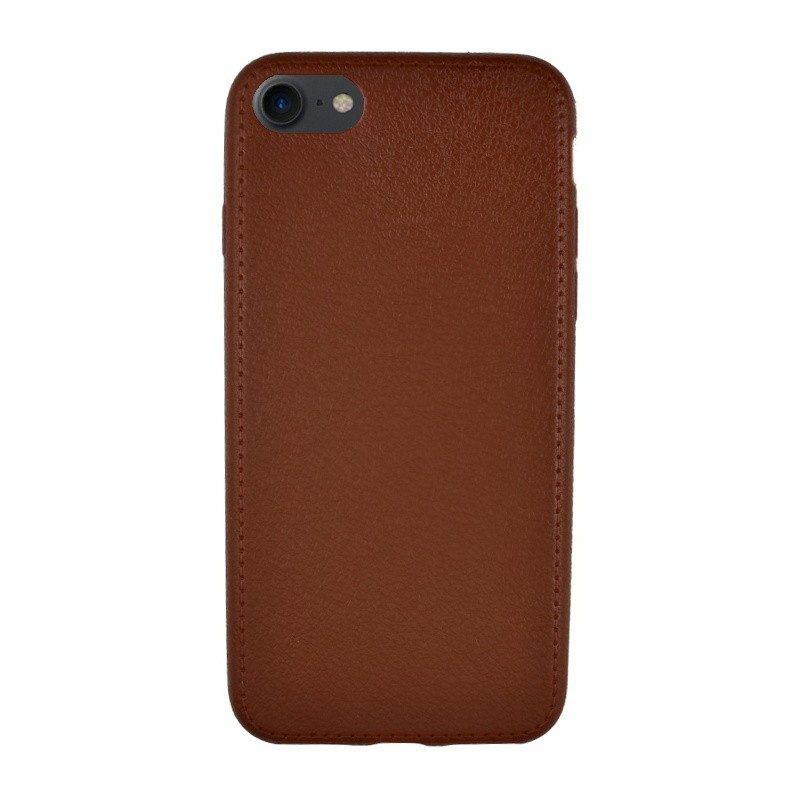 Silikónový kryt pre iPhone 7/8 BROWN