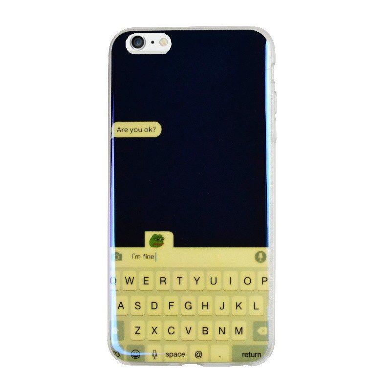 Silikónový kryt pre iPhone 6/6S Plus FINE
