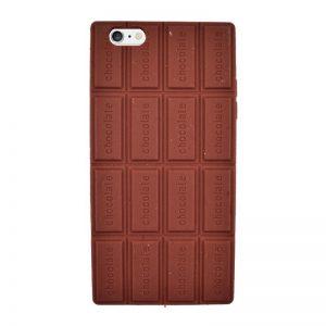 Silikónový kryt pre iPhone 6/6S Plus CHOCOLATE