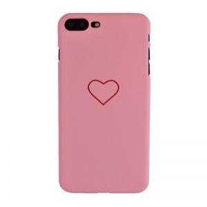 Plastový kryt pre iPhone 7/8 Plus BIG HEART