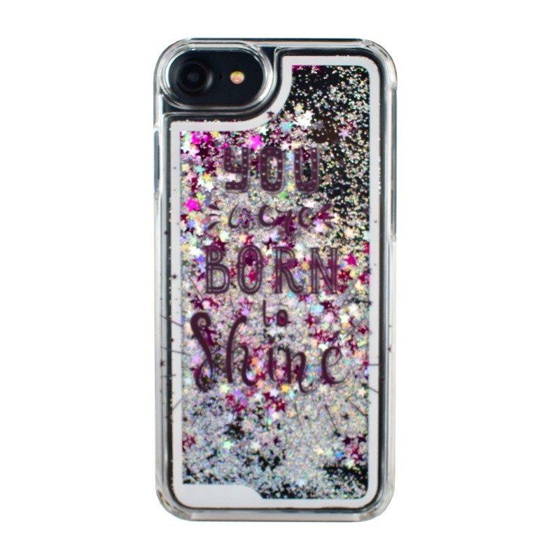 Presýpací plastový kryt pre iPhone 7/8 SHINE