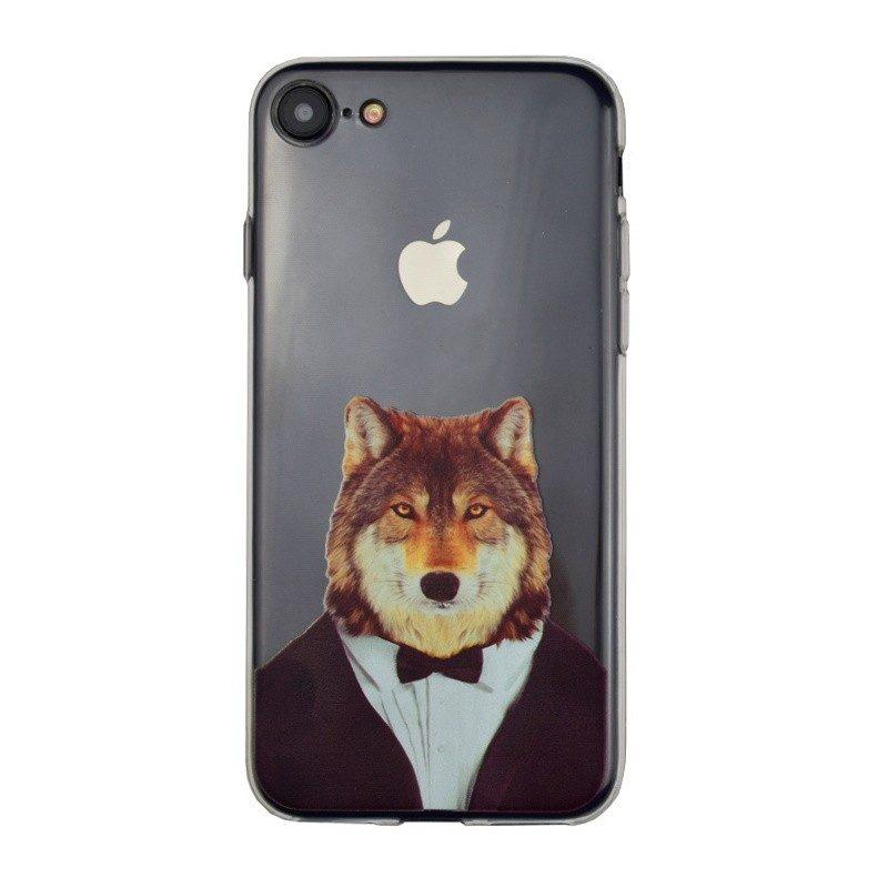 Silikónový kryt pre iPhone 7/8 WOLF