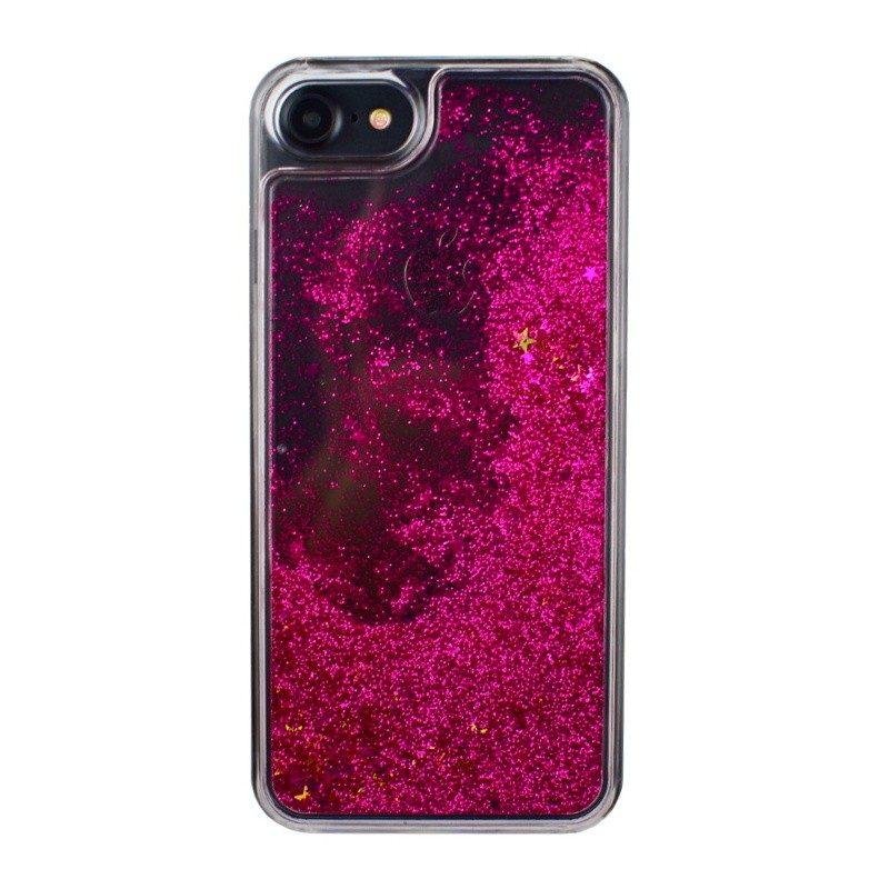 Presýpací plastový kryt pre iPhone 7/8 ROSY