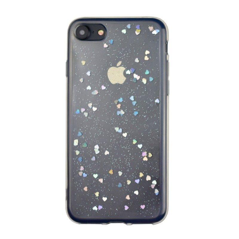 Silikónový kryt pre iPhone 7/8 HEARTS