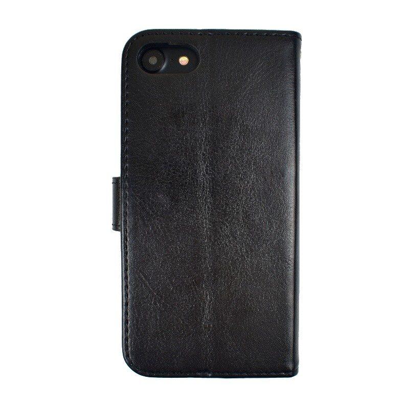 Kožené puzdro pre iPhone 7/8 BLACK