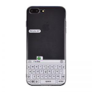 Silikónový kryt pre iPhone 7/8 Plus FINE