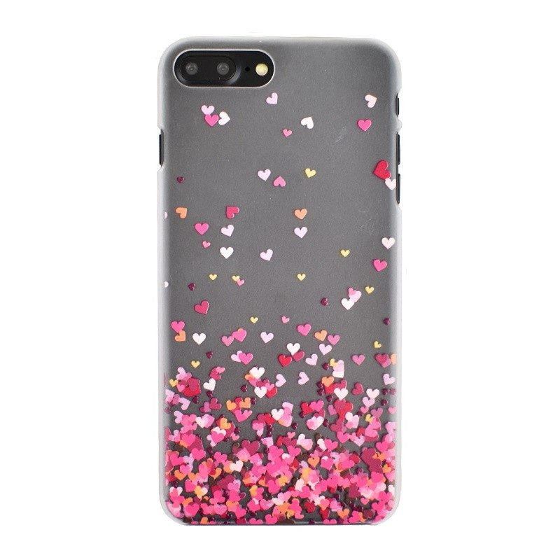 Plastový kryt pre iPhone 7/8 Plus HEARTS