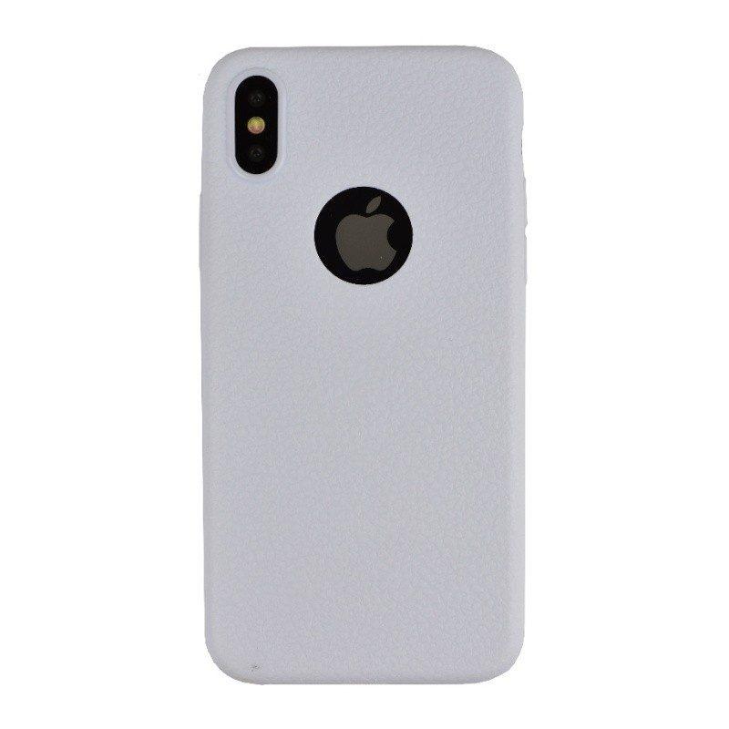 Silikónový kryt pre iPhone X WHITE