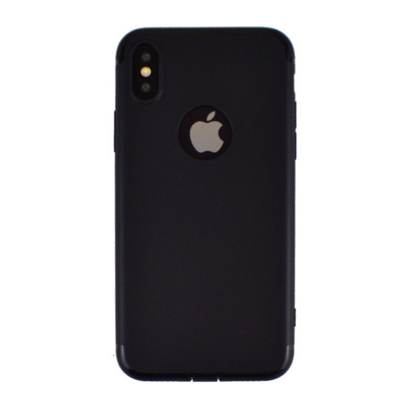 Silikónový kryt pre iPhone X BLACK