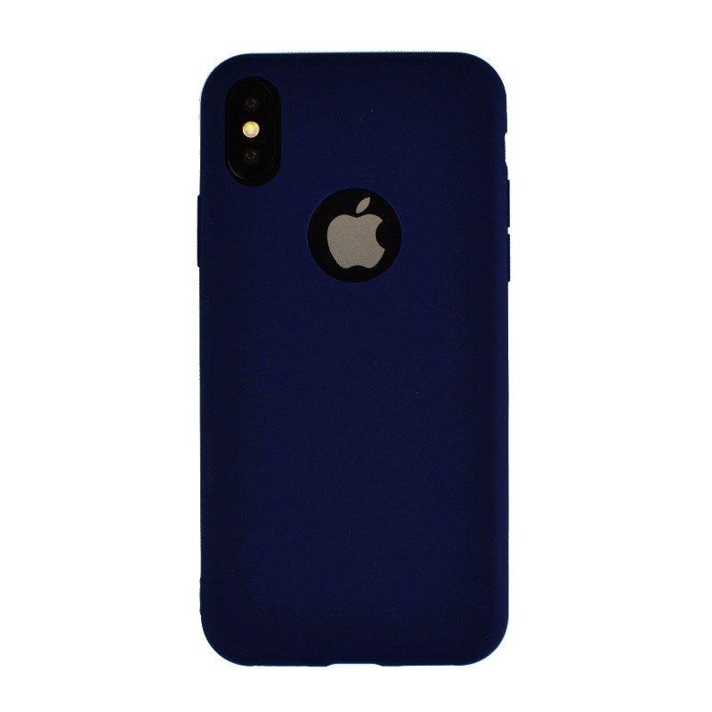 Silikónový kryt pre iPhone X BLUE