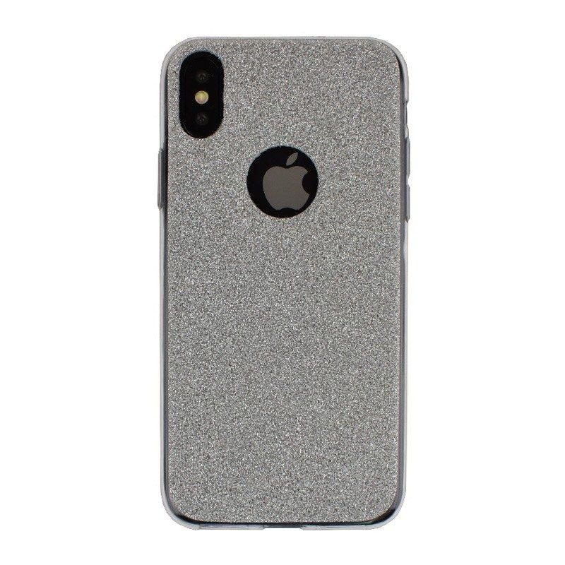 Silikónový kryt pre iPhone X SILVER