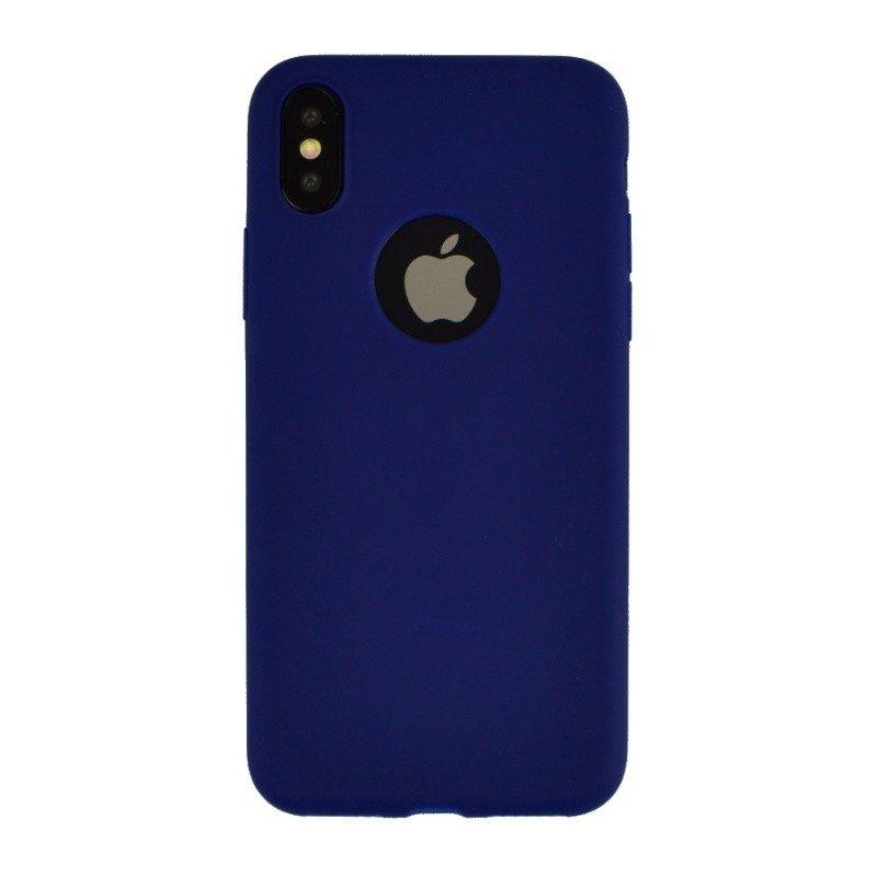 Silikónový kryt pre iPhone X SKY BLUE