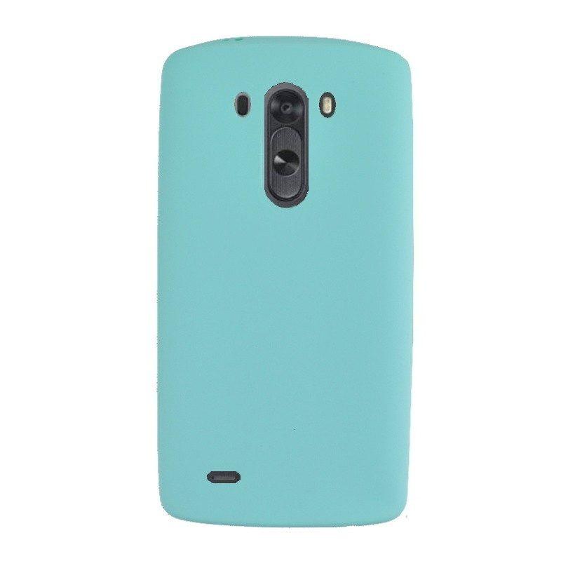 Silikónový kryt pre LG G3 BLUE