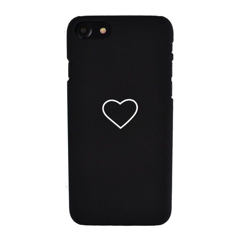 Plastový kryt pre iPhone 7/8 BLACK HEART