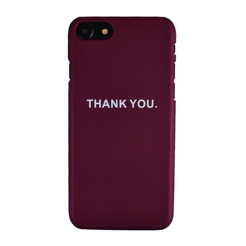 Plastový kryt pre iPhone 7/8 THANK YOU