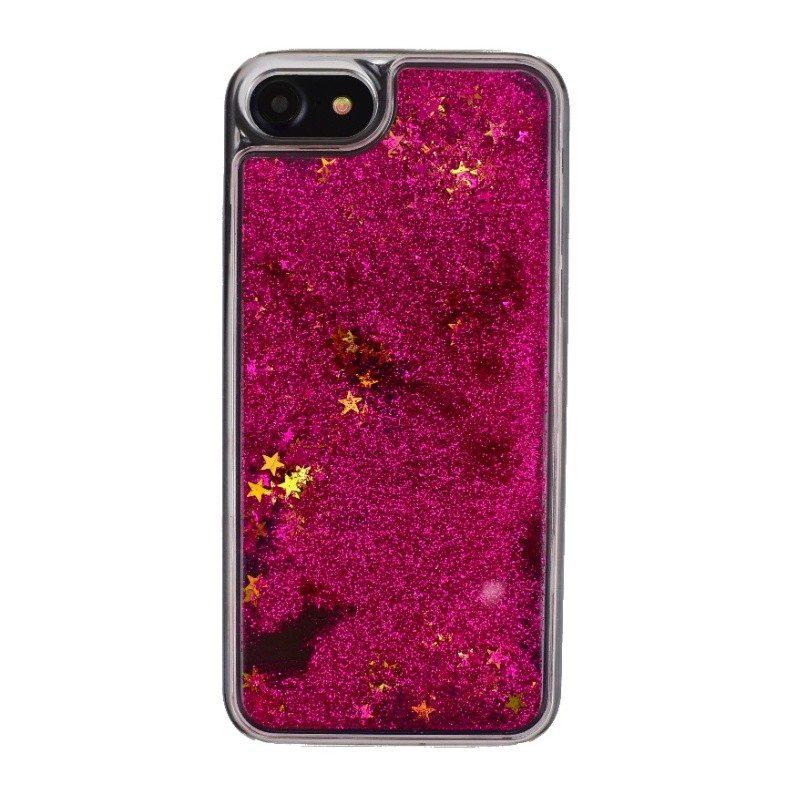 Presýpací plastový kryt pre iPhone 7/8 STARS