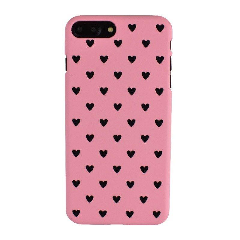 Plastový kryt pre iPhone 7/8 Plus BLACK HEART