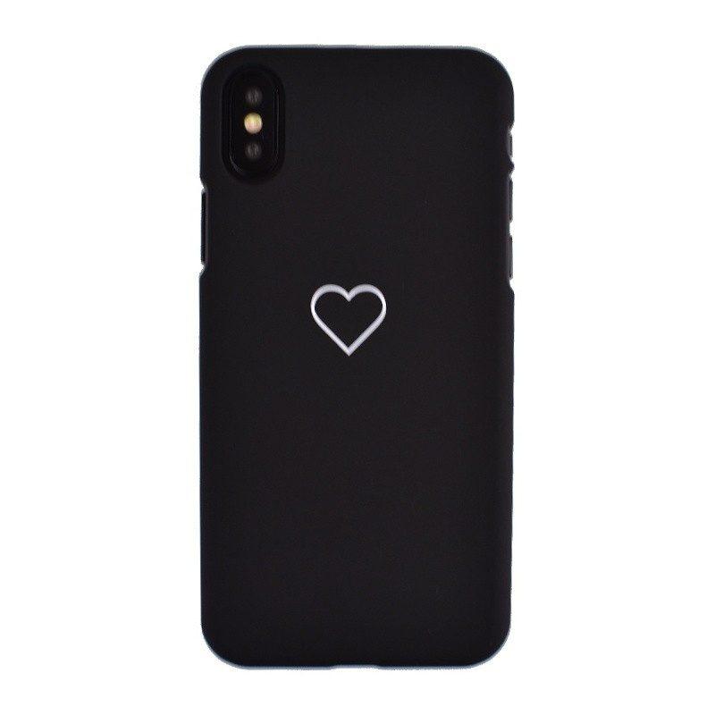 Plastový kryt pre iPhone X SMALL HEART