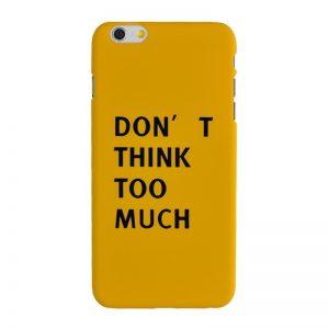 Plastový kryt pre iPhone 6/6S Plus THINK