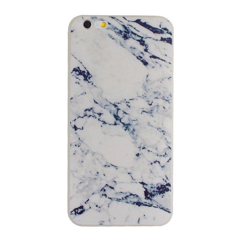 Silikónový kryt pre iPhone 6/6S Plus BLUE MARBLE