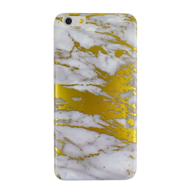 Silikónový kryt pre iPhone 6/6S Plus GOLD MARBLE