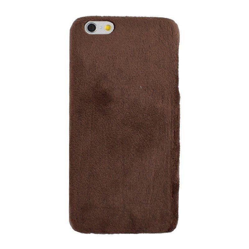 Plastový kryt pre iPhone 6/6S Plus BROWN