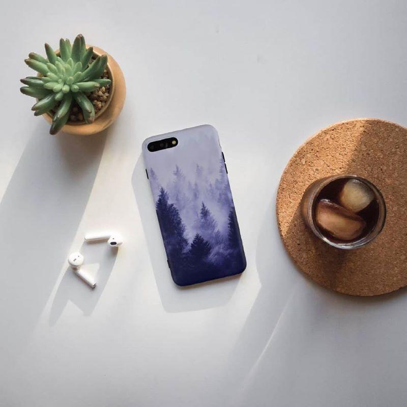 Silikónový kryt na iPhone 7/8 Plus FOREST FOG