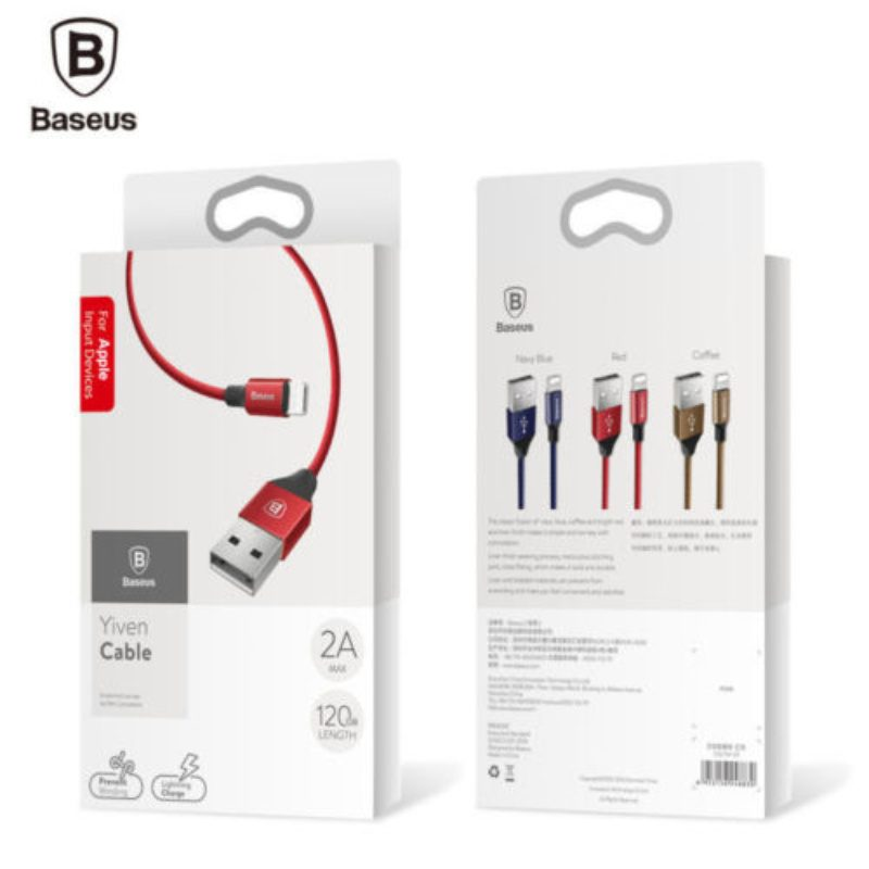 Kábel Micro USB 2A Fast Data 100cm Baseus - červený