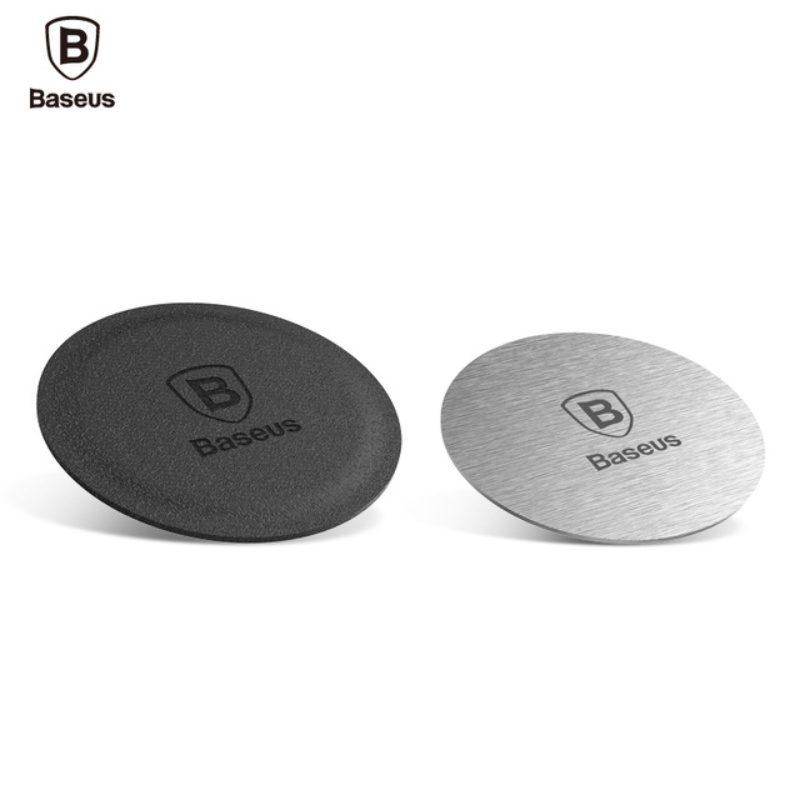 Kožený a kovový krúžok na telefón Baseus