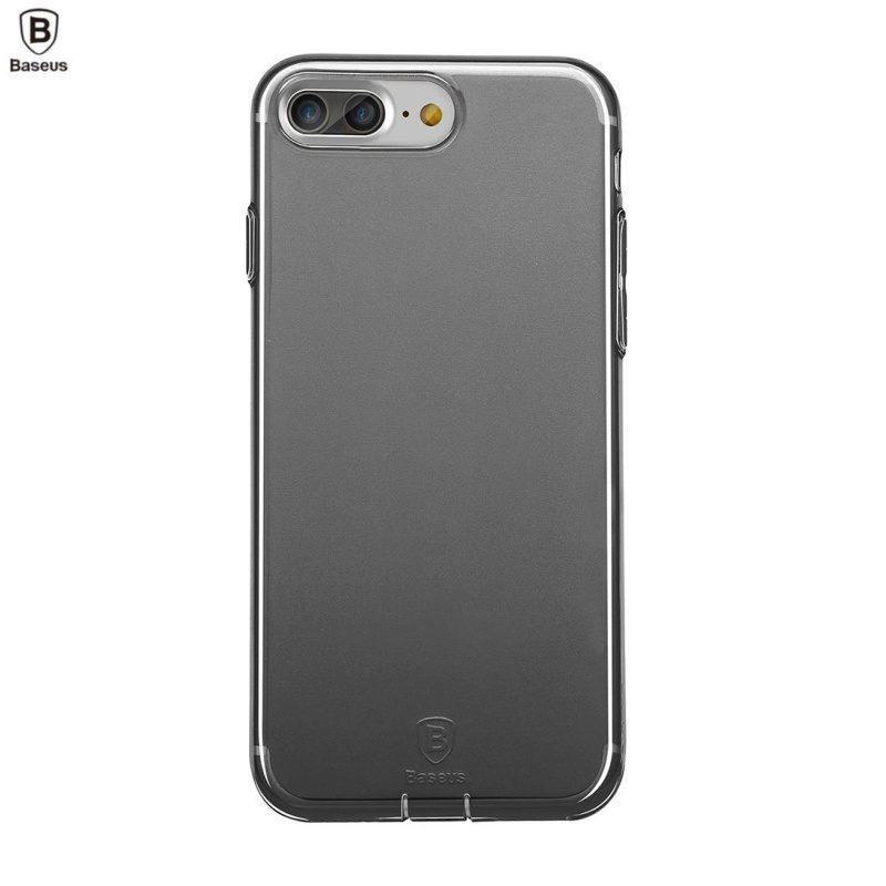 Silikónový kryt na iPhone 7/8 Plus- sivý Baseus