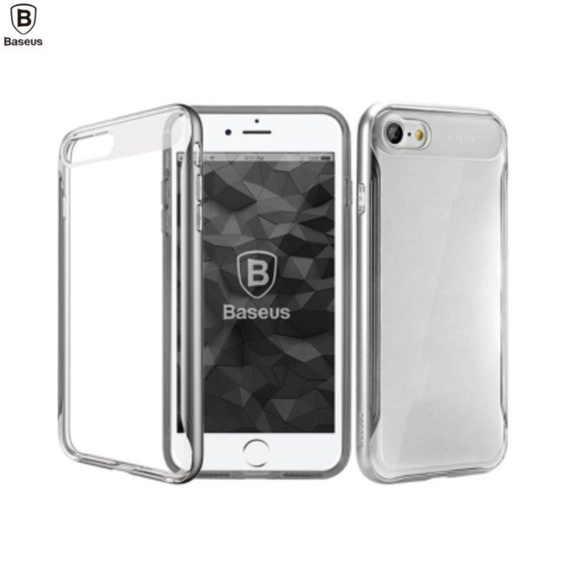 Silikónový kryt na iPhone 7/8/SE 2- sivý Baseus