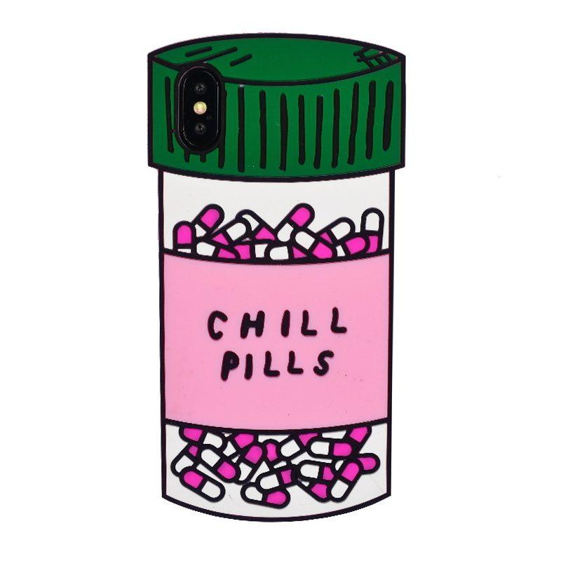 Gumený kryt na iPhone X/XS Pills