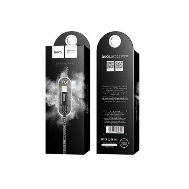Hoco X14 kábel Apple iPhone Lightning 100cm - čierny