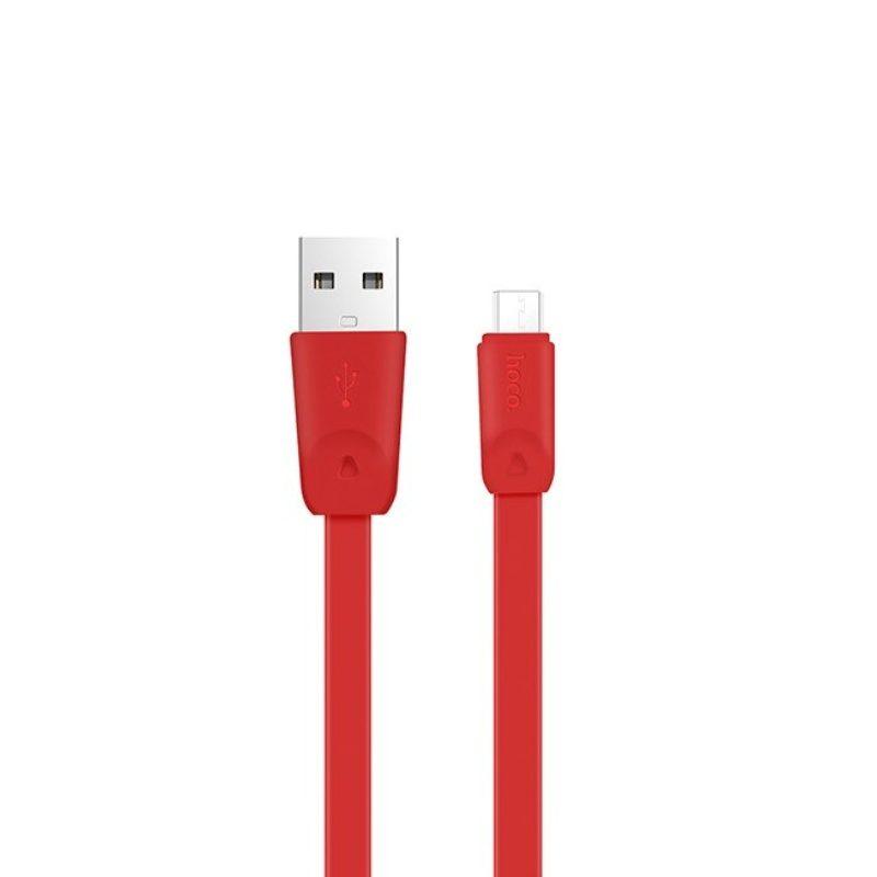 Hoco X9 kábel Micro USB Rapid Charging 100cm - červený