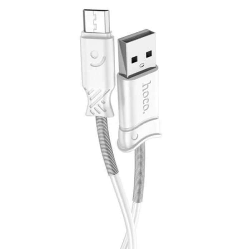 Kábel Micro USB 2.4A Charging Data 100cm Hoco X24 - biely