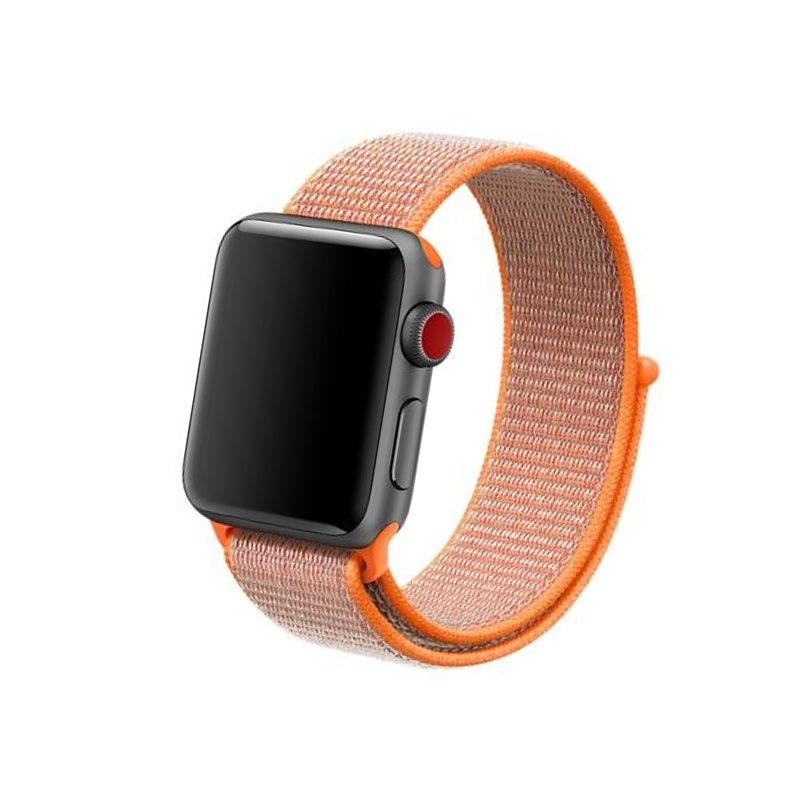 Látkový remienok Apple Watch Orange