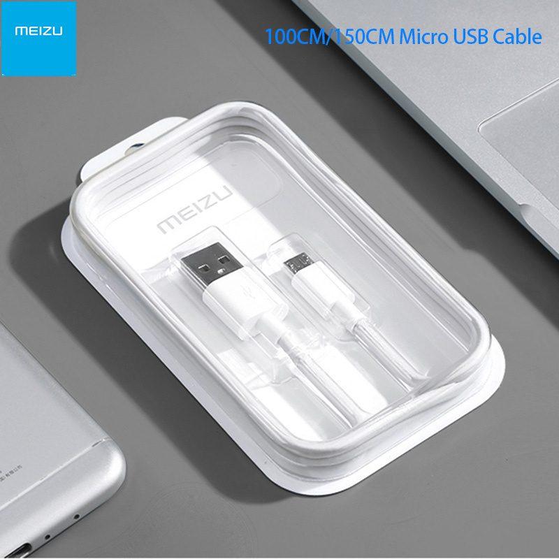 Kábel Micro USB 150cm Meizu - biely