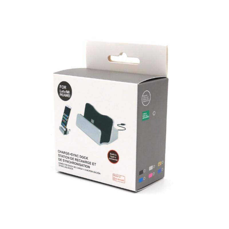 Nabíjacia a dokovacia stanica Micro USB - Silver