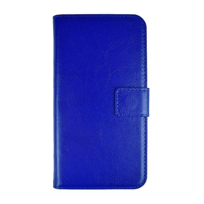Apple iPhone X/XS ochranné flip puzdro - modré 1