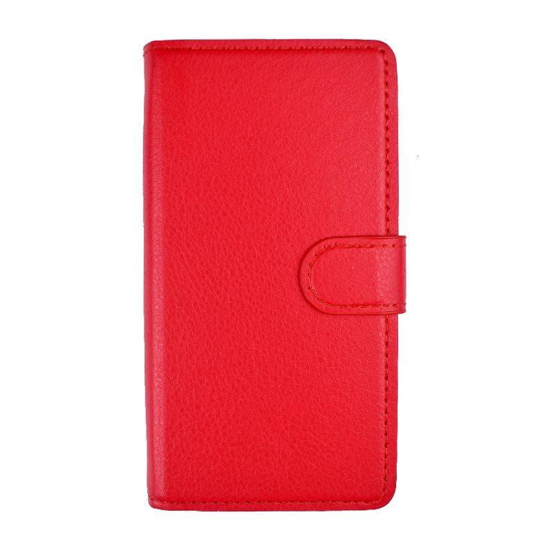 Ochranné flip puzdro na Lenovo K6 Red