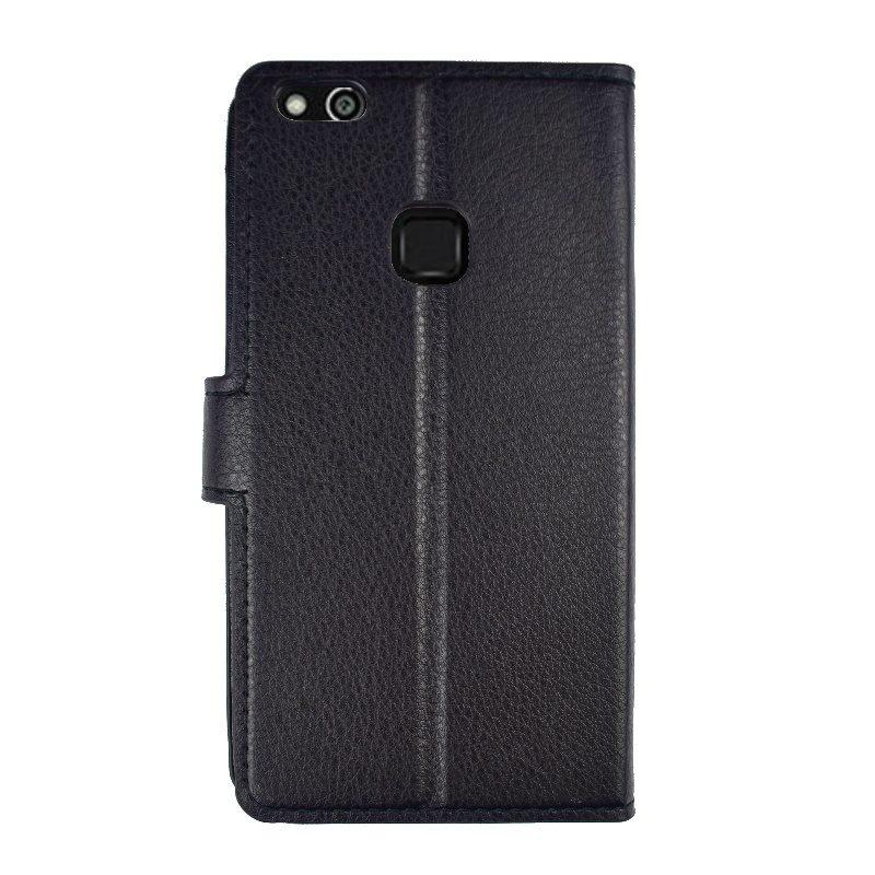 Ochranné flip puzdro pre Huawei P10 Lite - čierne