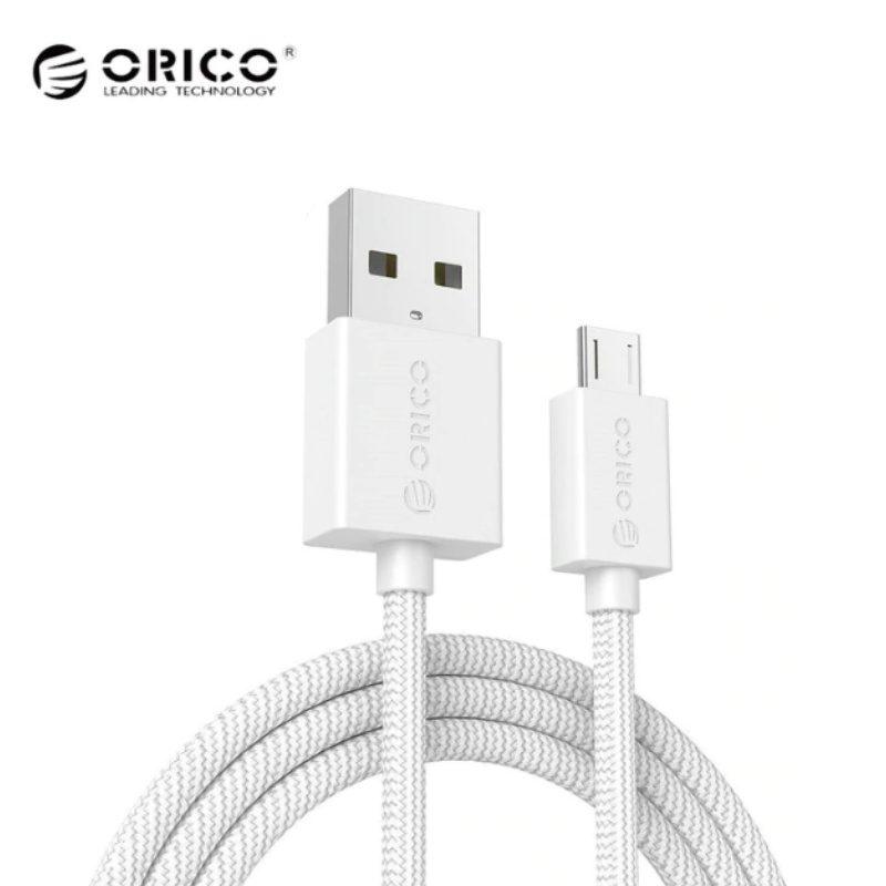 Orico kábel Micro USB 3A Fast Data 100cm - biely