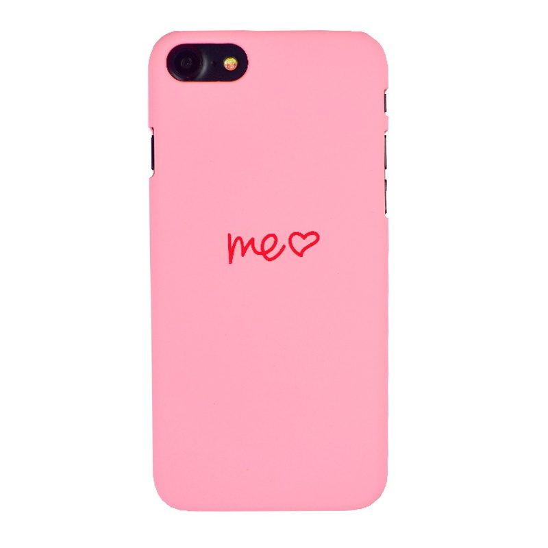 Plastový kryt na iPhone 7/8/SE 2 Pink Me