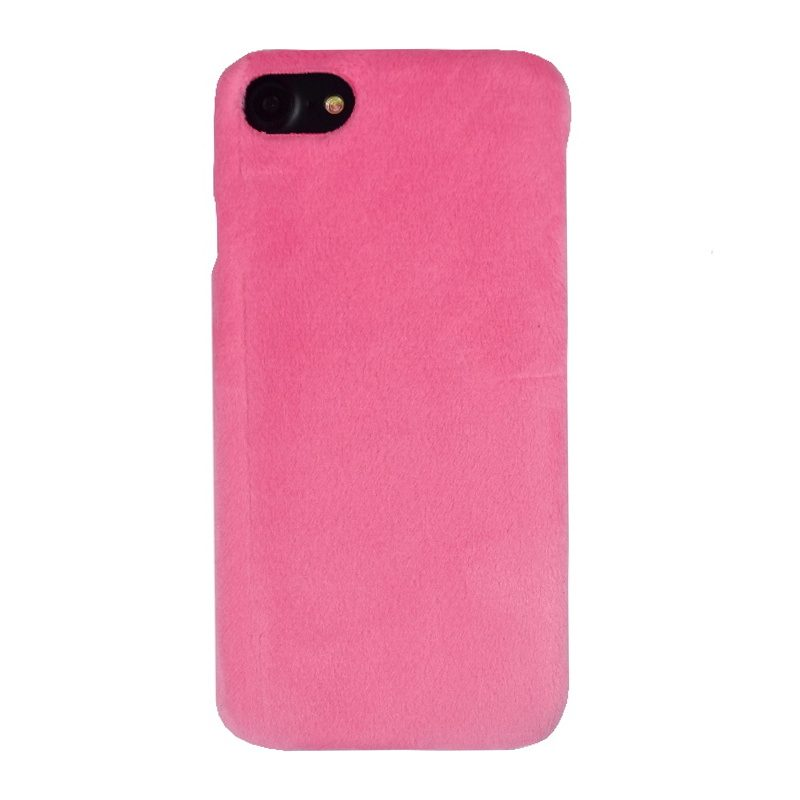 Plastový kryt na iPhone 7/8/SE 2 látkový Pink