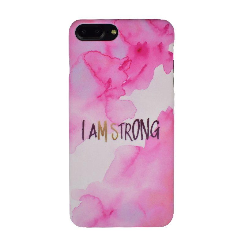 Plastový kryt na iPhone 7/8 Plus I AM STRONG